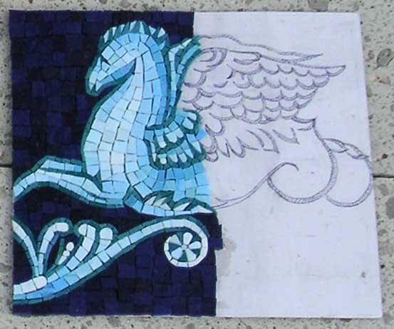 Bixenman sample mosaic legs