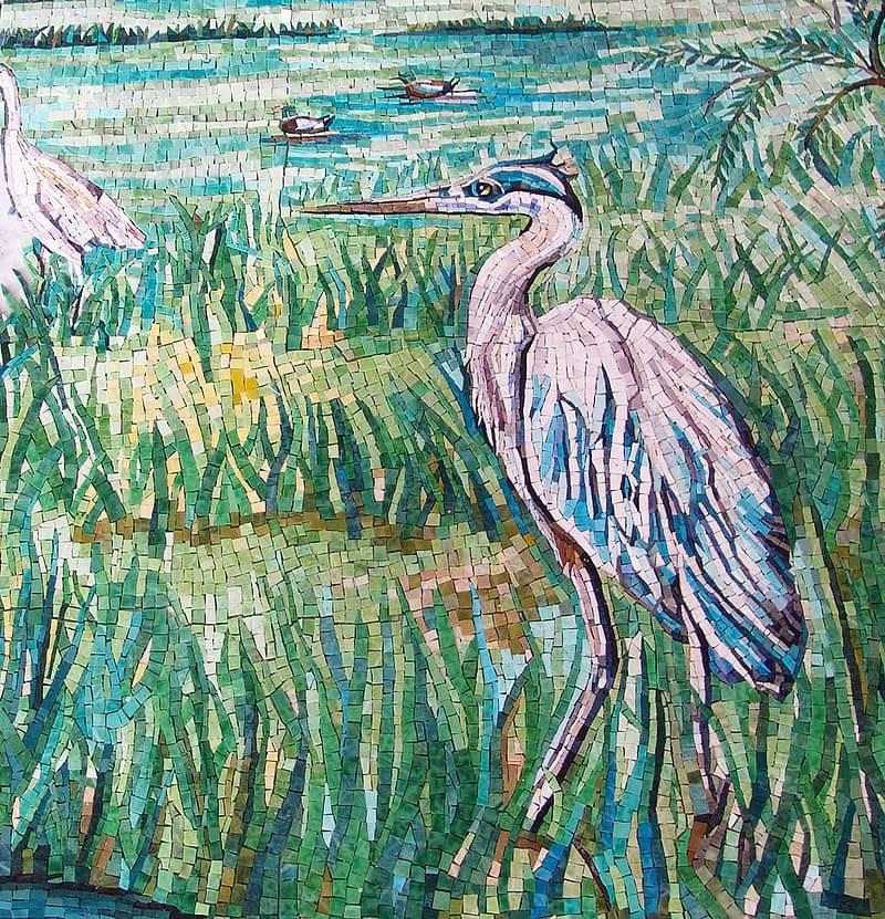 Work in progress Blue Heron Gorski